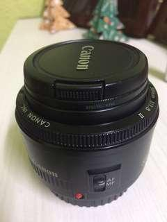 Canon EF 50mm F1.8 II #SEPPAYDAY