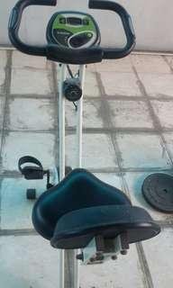 Alat olahraga sepeda merk shaga