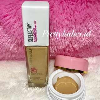 Maybelline Superstay 24H Full Coverage Foundation Share in Jar