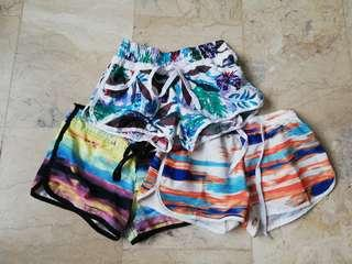 3 pcs Summer shorts