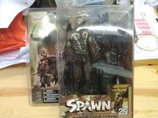 MCFARLANE SPAWN 25 CLASSIC COMIC COVERS 再生俠 (not Marvel Legends, DC, NECA, Hottoys)