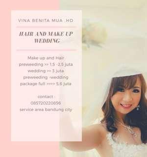 Paket murah Make up preweed -wedding