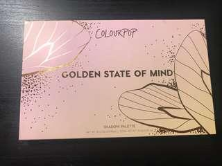 Colourpop golden state of mind palette
