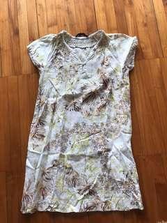 Zara dress linen M
