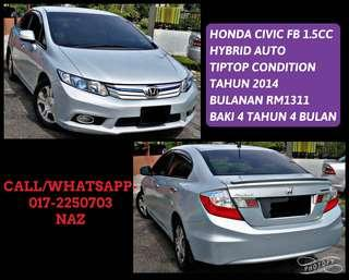 HONDA CIVIC FB 1.5 HYBRID (A)