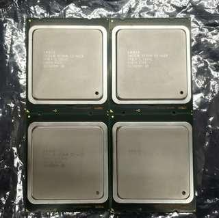 🚚 Intel Xeon E5-4620, Matched Quad (4) Units, Top Costa Rica Bin, 32 Cores 64 Threads Total, 2.2GHz Base Clock, CPU Processor, LGA2011-1