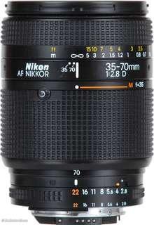 Want to buy nikon 35-70 F2.8 D