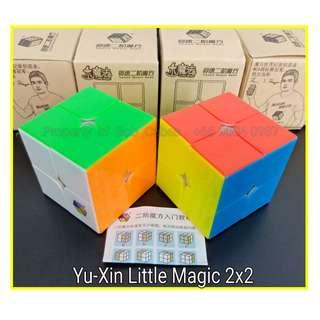 - Yu-Xin Little Magic 2x2 for sale   ! Brand New Speedcube ! Yuxin Little Magic 2x2
