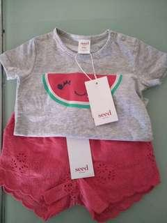 Seed Baby outfit 12-18months