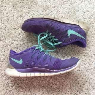 Purple Nike Runners