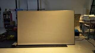 Whiteboard 3ftx5ft
