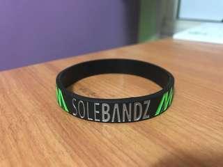 SoleBandz wristband