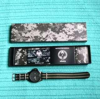 Infantry Men's Analog Watch with Veloci NATO Strap