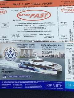 Promotion Batam Ferry Tickets - Cheapest