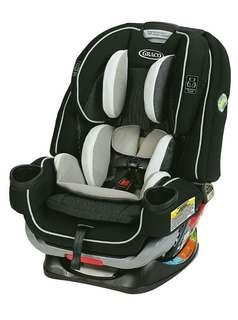 Brand New Graco 4Ever Extend2Fit All in One Convertible Car Seat, Clove