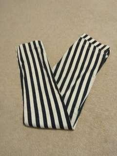 H&M striped pants