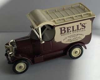 Diecast model car, BELL'S Scotch Whisky, Blue Nose Morris Van, Mint with box.