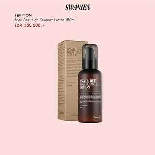 Benton Snail Bee Hight Content Lotion