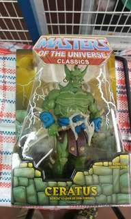 MASTERS OF THE UNIVERSE CLASSICS CERATUS (not Marvel Legends, DC, Hottoys, Heman)