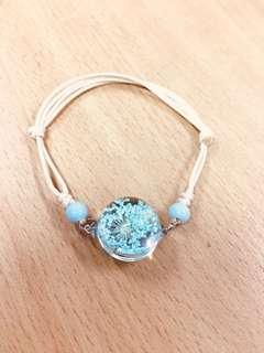 Handmade Flowers Bracelet.
