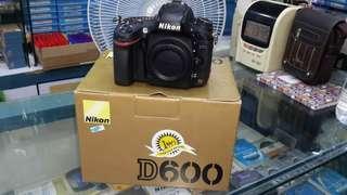 Kredit Nikon D600 BO Garansi 1 Tahun Resmi
