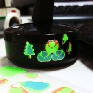 🇰🇷韓國正版 (Y019018) LATECH 裝飾貼紙 夜光立體水晶貼紙 企鵝和北極熊15S-C562