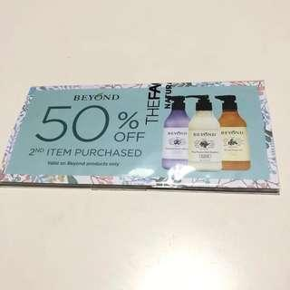 Beyond gift voucher and shampoo sample