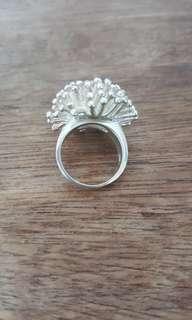 925 silver ring 16 cm