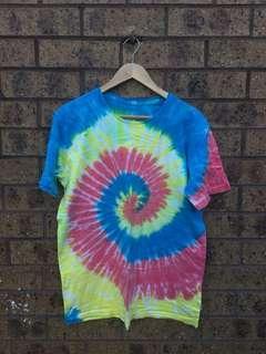 Multicoloured tiedye Top