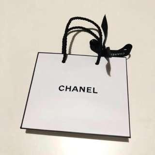 Chanel Paper Bag paperbag authentic