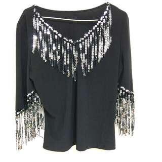 🚚 🎀全新🎀亮片上衣#十月女裝半價