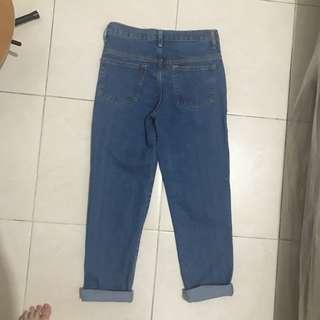celana jeans korea size 28 lucuu