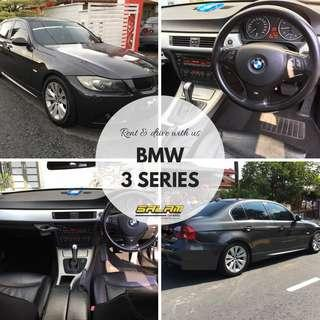 BMW 3 SERIES FOR RENT