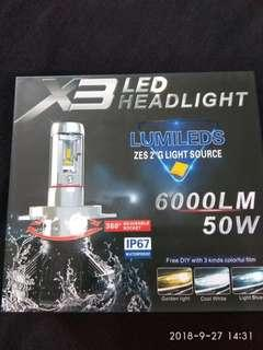 Rare 8000K 9005/HB3 Led Car Headlight Bulb
