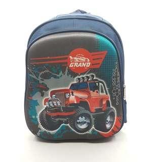 Tas Sekolah Anak Motif Jeep