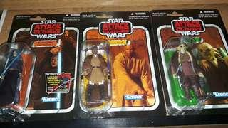 Star Wars The Vintage Collection Set of 3