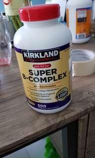 100 % Kirkland Signature Vitamin B- Complex
