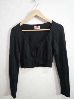 Zara crop cardigan preloved