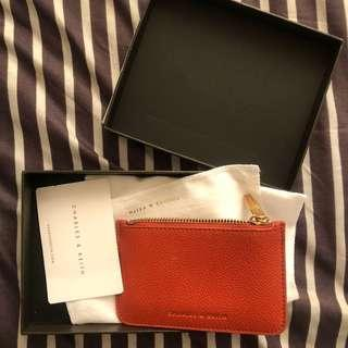 charles & keith card wallet authentic / dompet ck ori