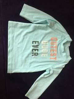 Baby Carter's shirt