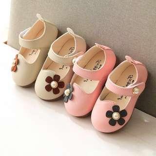 🔥Clearance🔥Prewalker shoes baby girl flower shoes kasut budak kasut bayi
