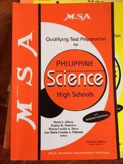 MSA high school reviewer book
