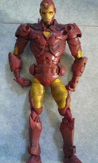 12 inches Toybiz Marvel Icon Ironman 1(not Marvel Legends, NECA,  DC, Hottoys)