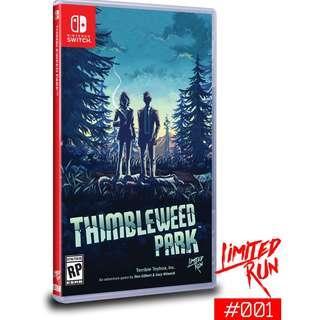 Thimbleweed Park - Limited Run Games #001
