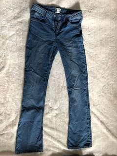 H&M Skinny Flare jeans