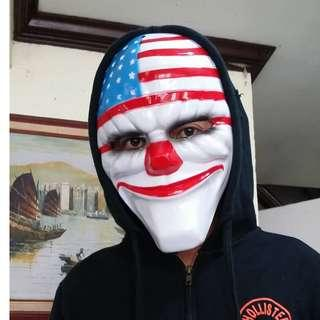 Party Mask Payday Heist Mask American Flag mask
