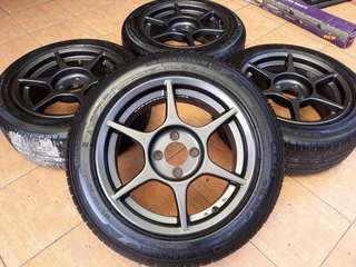Sport rim p1 racing original 15 inci
