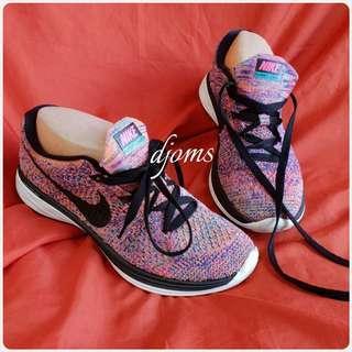✔Sz 6 Nike Flyknit lunar 3 Womens lace sneakers rubber shoes