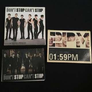 PRE-LOVED 2PM ALBUMS
