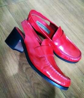 Patrick Cox Sling Back Loafers